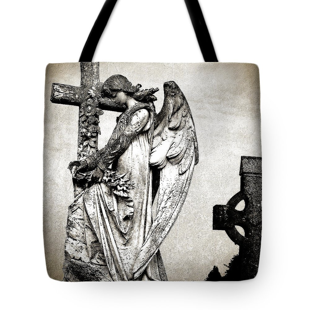 Ireland Tote Bag featuring the photograph Roscommon Angel No 1 by Teresa Mucha