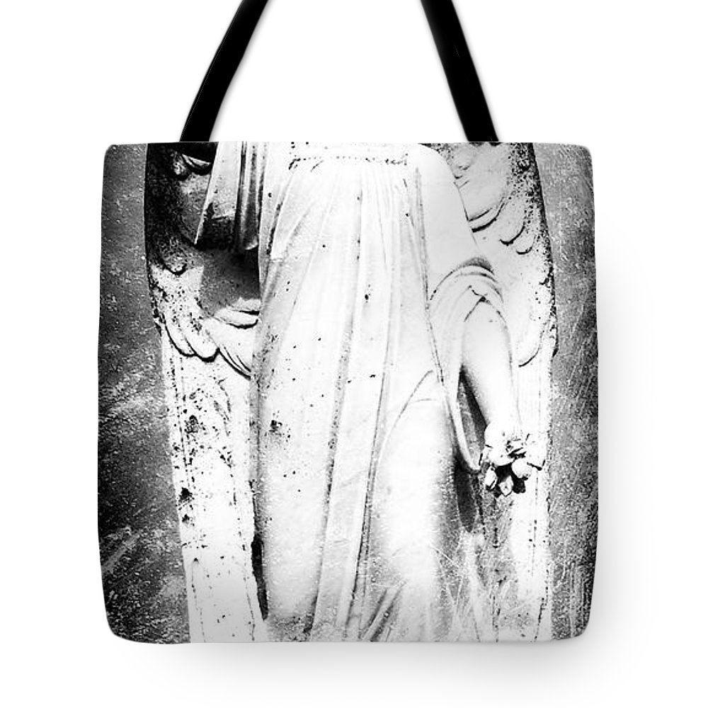 Roscommon Tote Bag featuring the photograph Roscommon Angel No 2 by Teresa Mucha