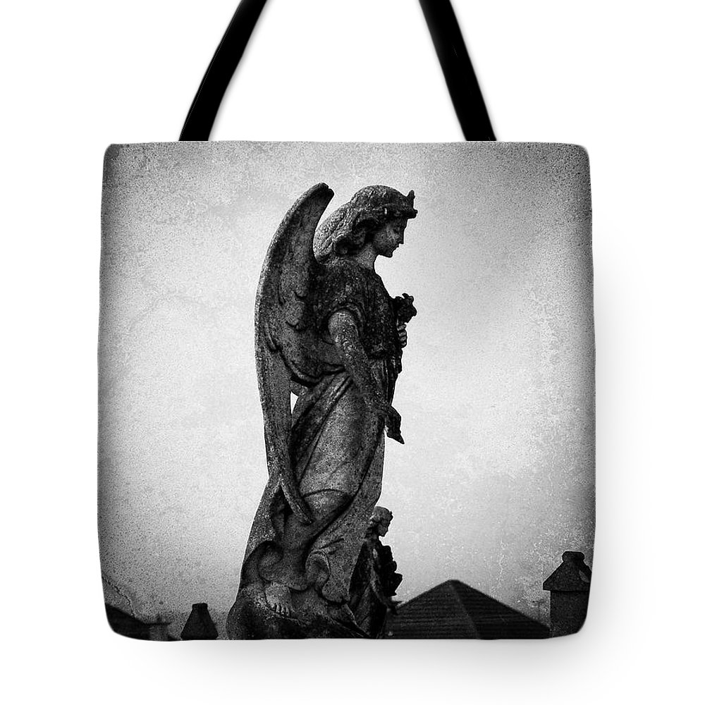 Roscommon Tote Bag featuring the photograph Roscommonn Angel No 4 by Teresa Mucha