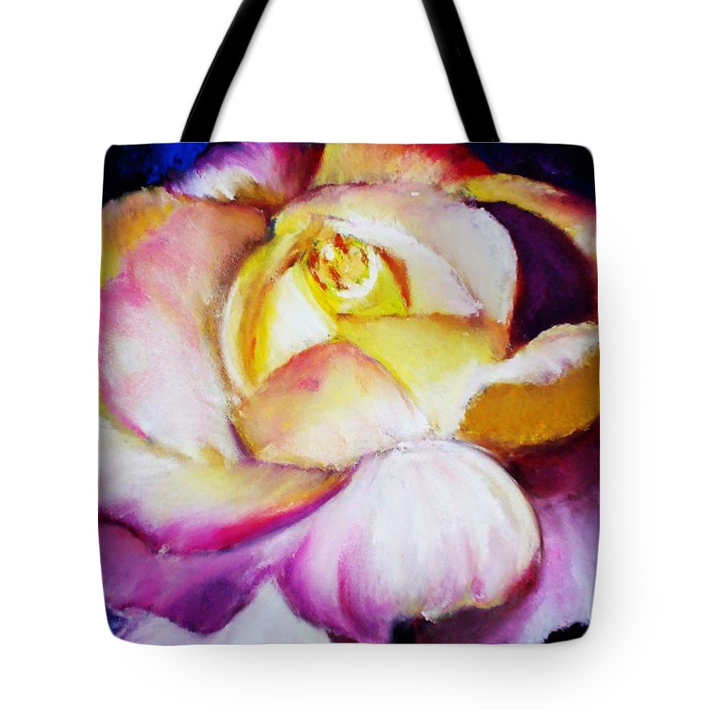 Rose Tote Bag featuring the print Rose by Melinda Etzold