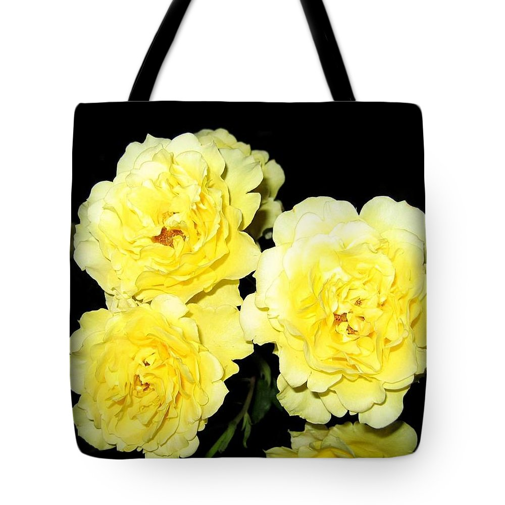 Roses Tote Bag featuring the photograph Roses 11 by Will Borden