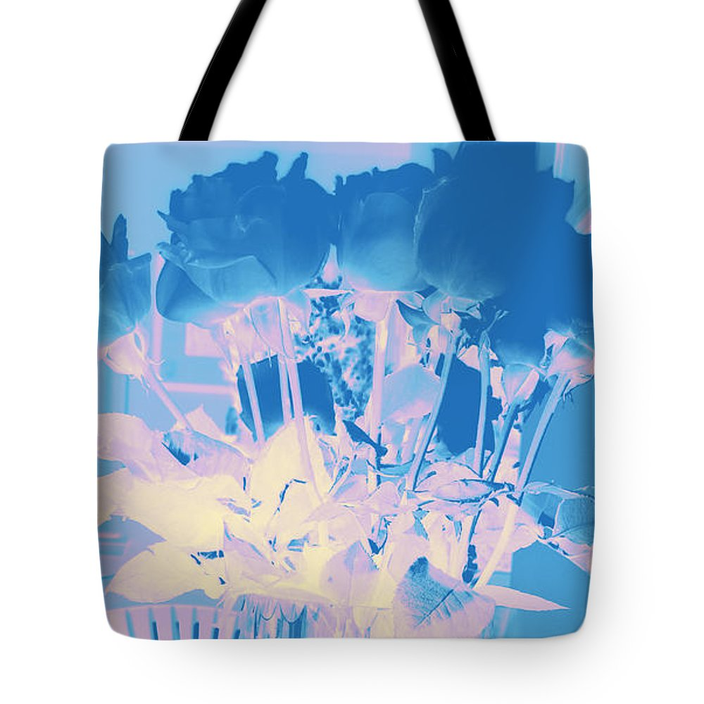 Roses Tote Bag featuring the photograph Roses #12 by Anne Westlund