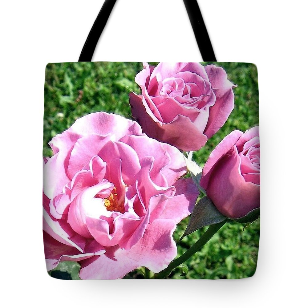 Roses Tote Bag featuring the photograph Roses 6 by Will Borden