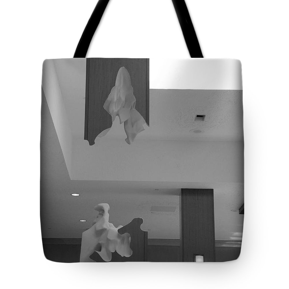 Abstract Tote Bag featuring the photograph Rotton Stanchon by Rob Hans