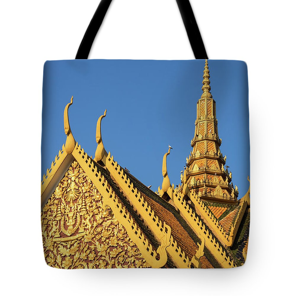 Cambodia Tote Bag featuring the photograph Royal Palace 14 by Rick Piper Photography