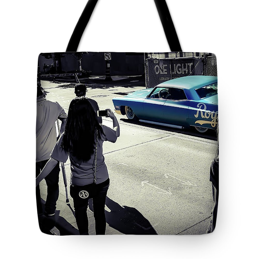 Car Tote Bag featuring the photograph Royaleanin by Payton Patterson