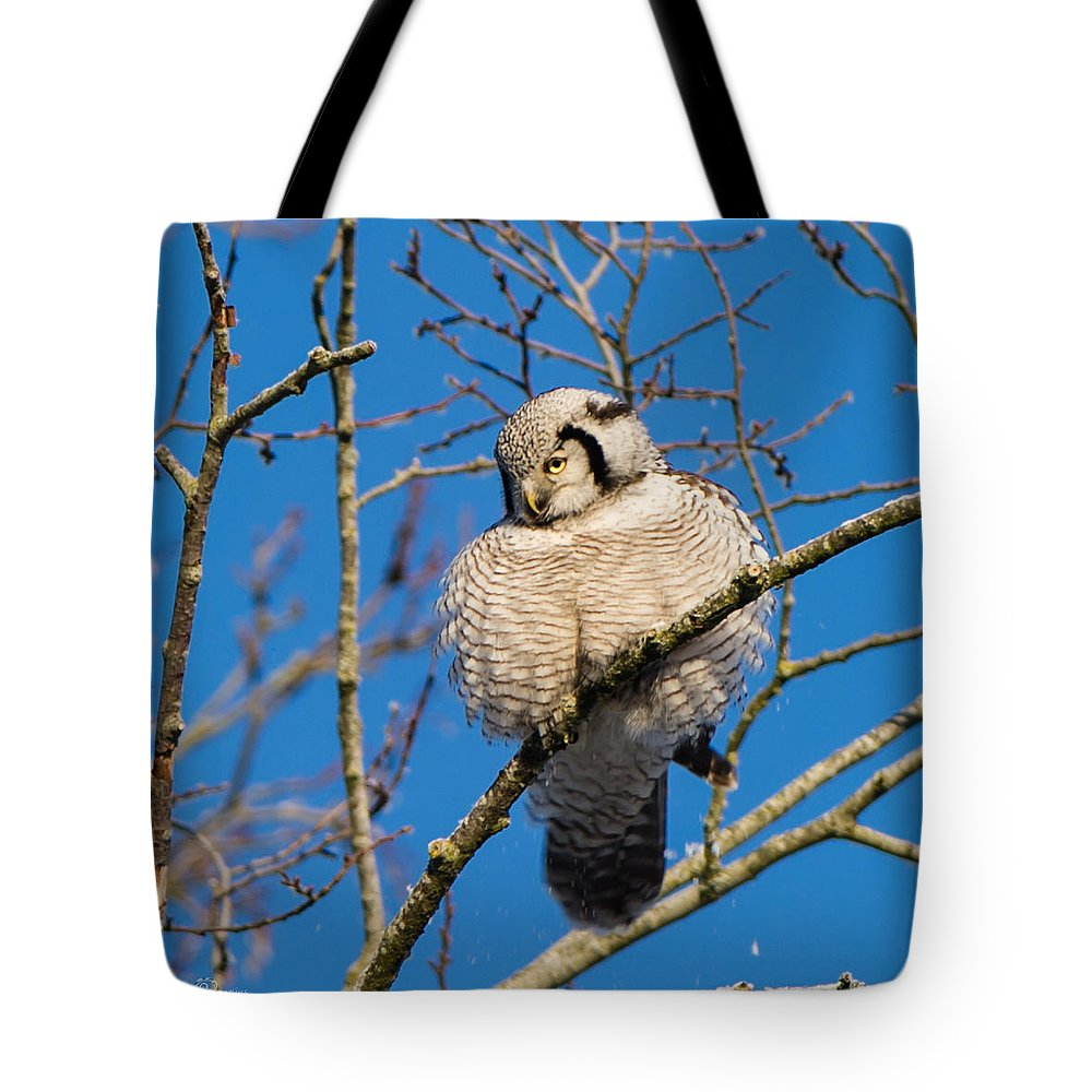 Ruffled Up Tote Bag featuring the photograph Ruffled Up by Torbjorn Swenelius