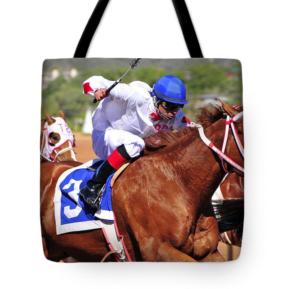 Skip Hunt Tote Bag featuring the photograph Ruidoso by Skip Hunt