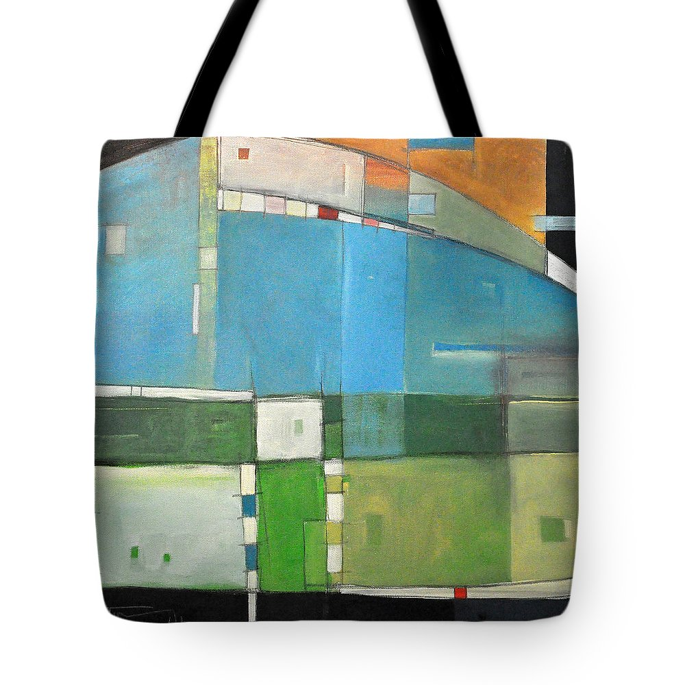 Landscape Tote Bag featuring the painting Rural Landscape Number 3 by Tim Nyberg