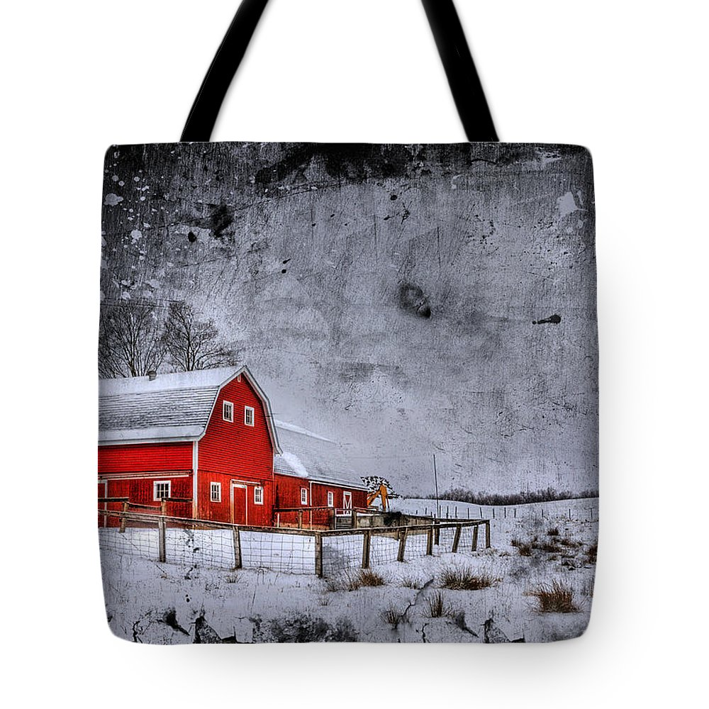 Barn Tote Bag featuring the photograph Rural Textures by Evelina Kremsdorf