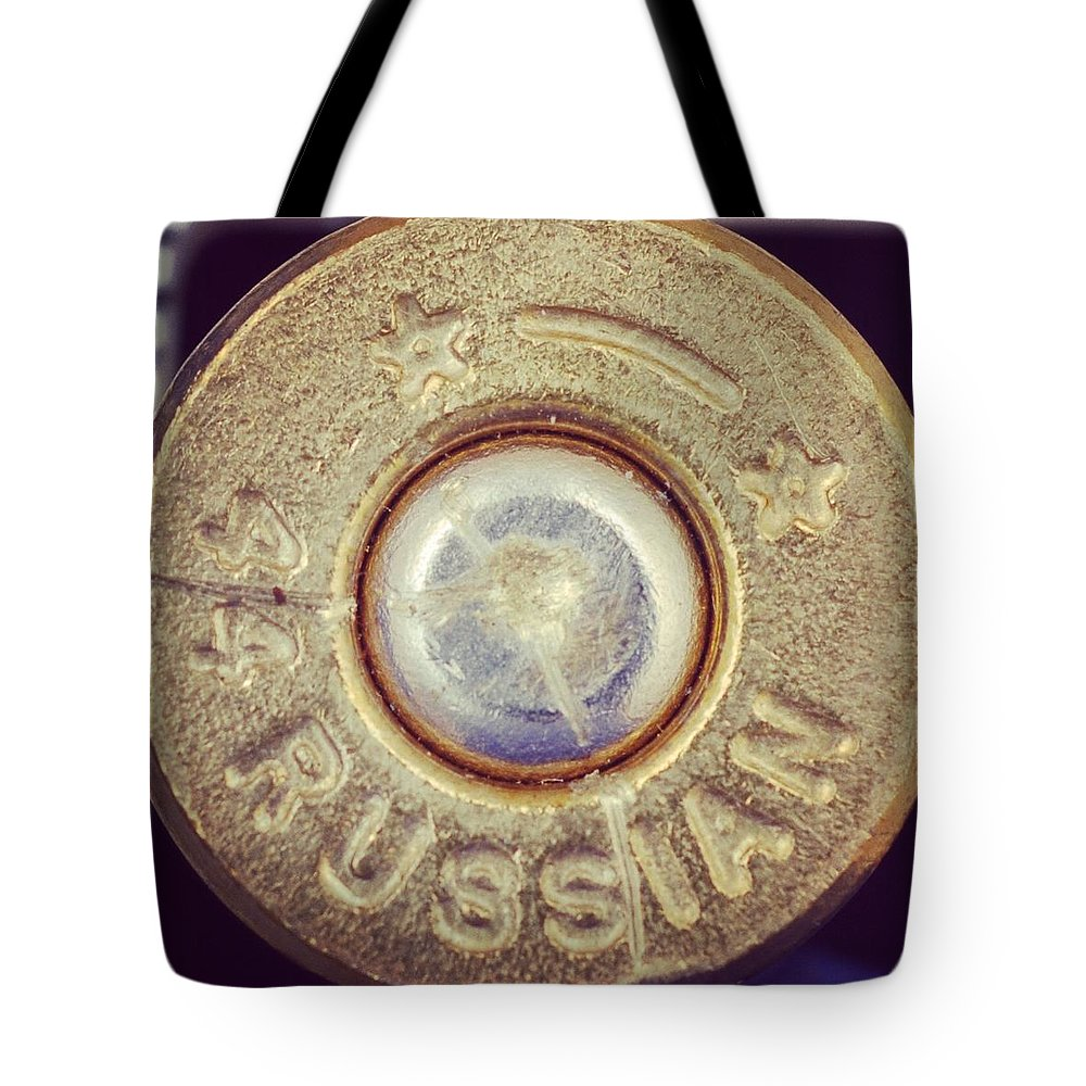 Tote Bag featuring the photograph Russian by CSI Guy