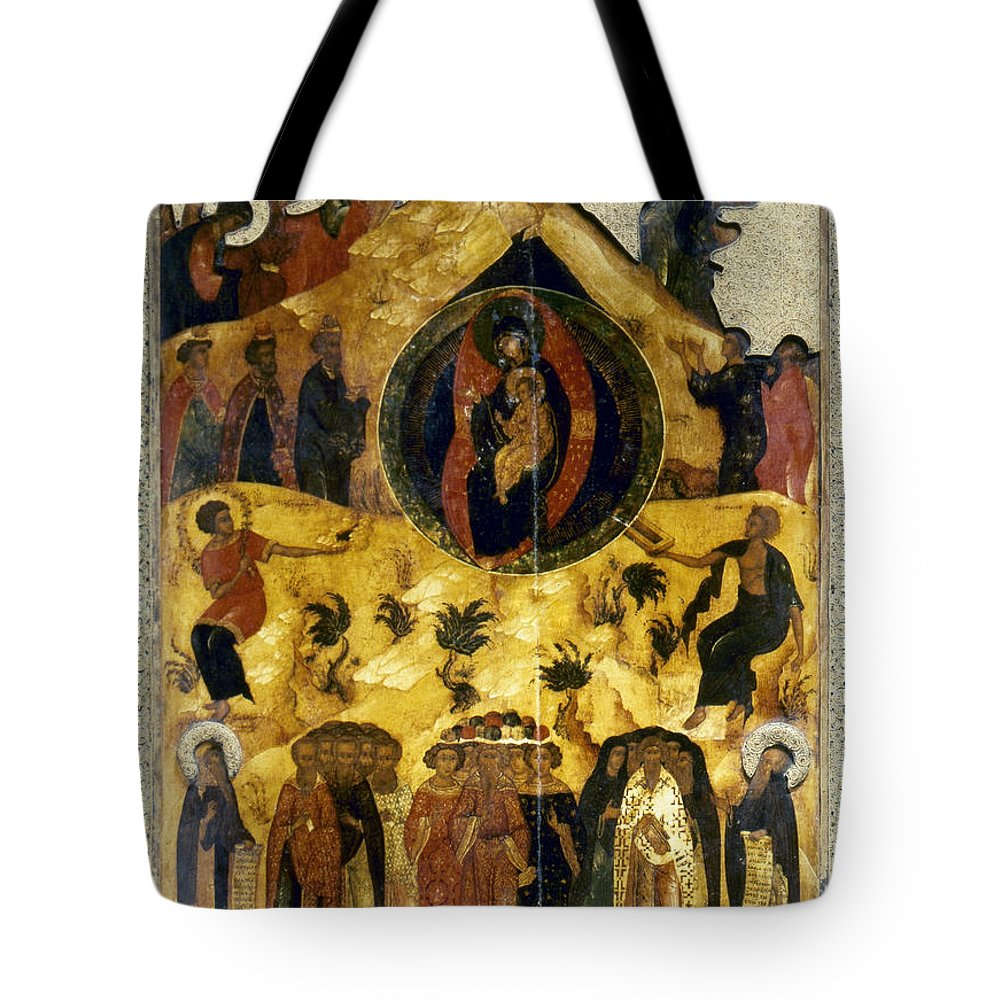 16th Century Tote Bag featuring the photograph Russian Icon by Granger