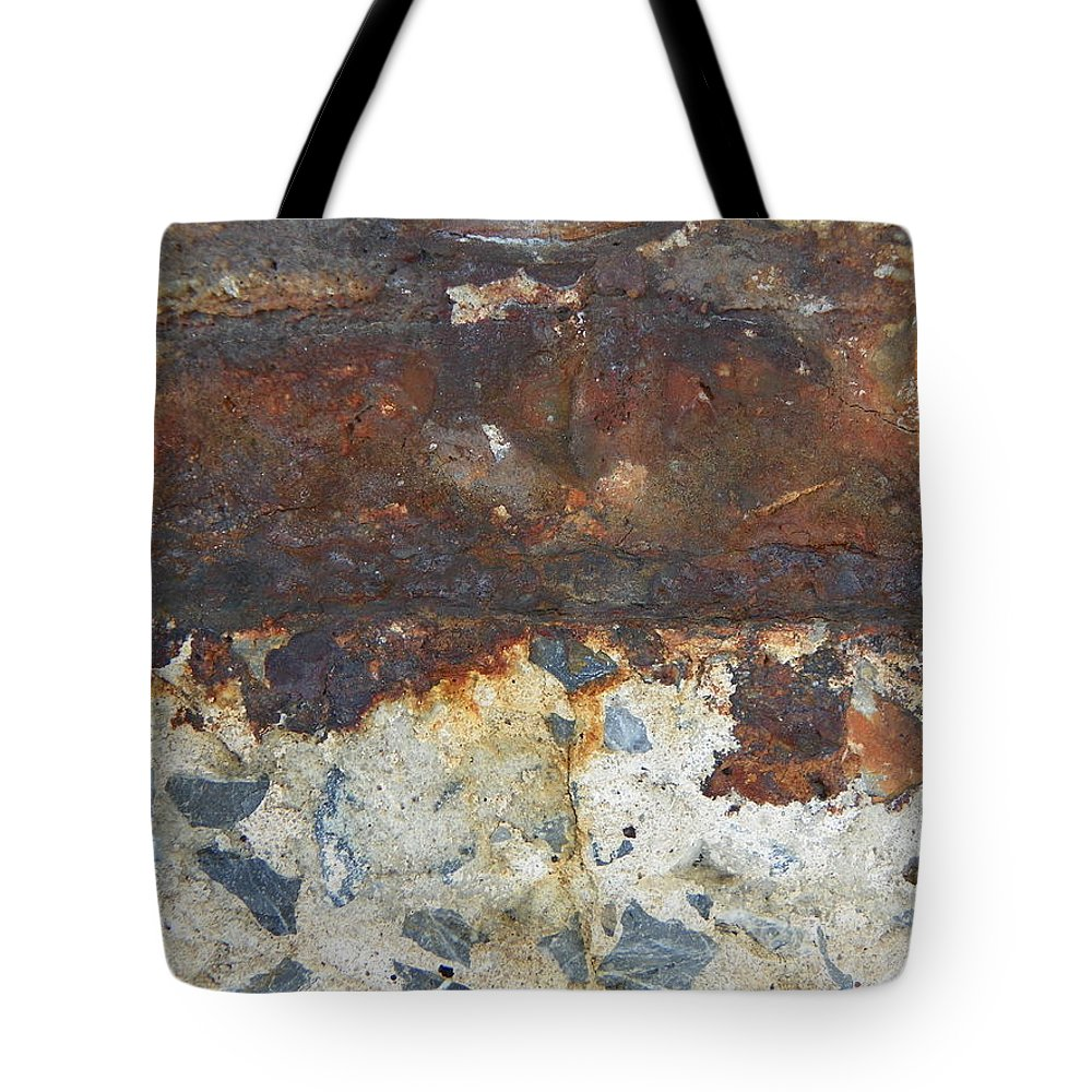 Rust Tote Bag featuring the photograph Rust 14 by Bernie Smolnik