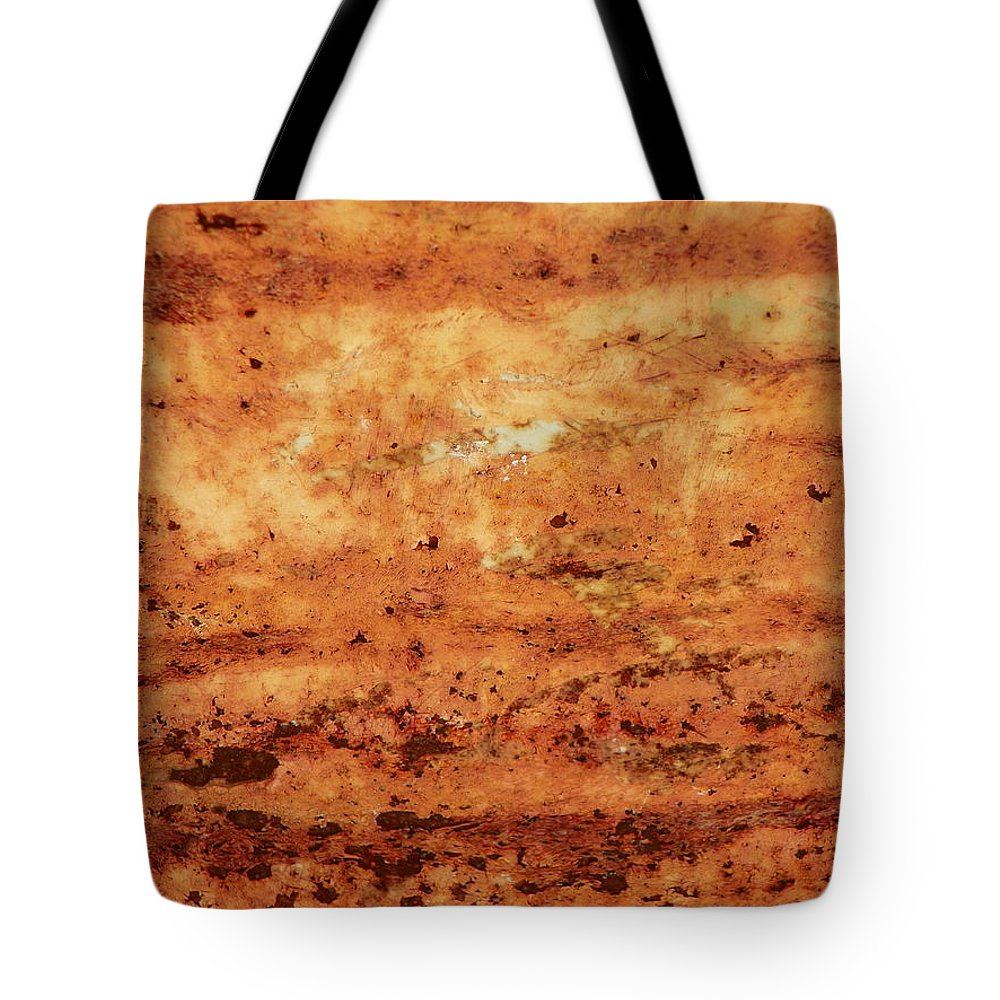 Rust Tote Bag featuring the photograph Rust 21 by Bernie Smolnik
