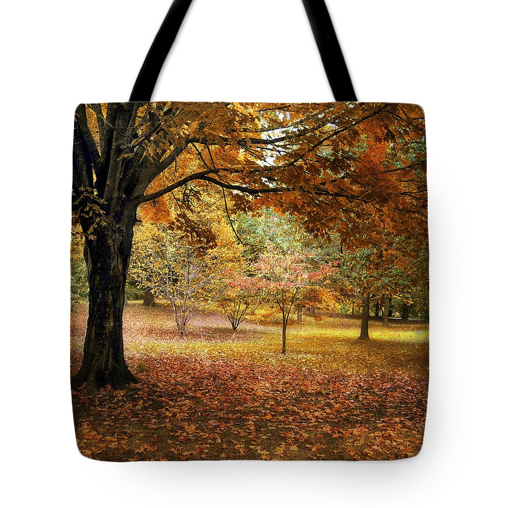 Autumn Tote Bag featuring the photograph Rustic Autumn by Jessica Jenney
