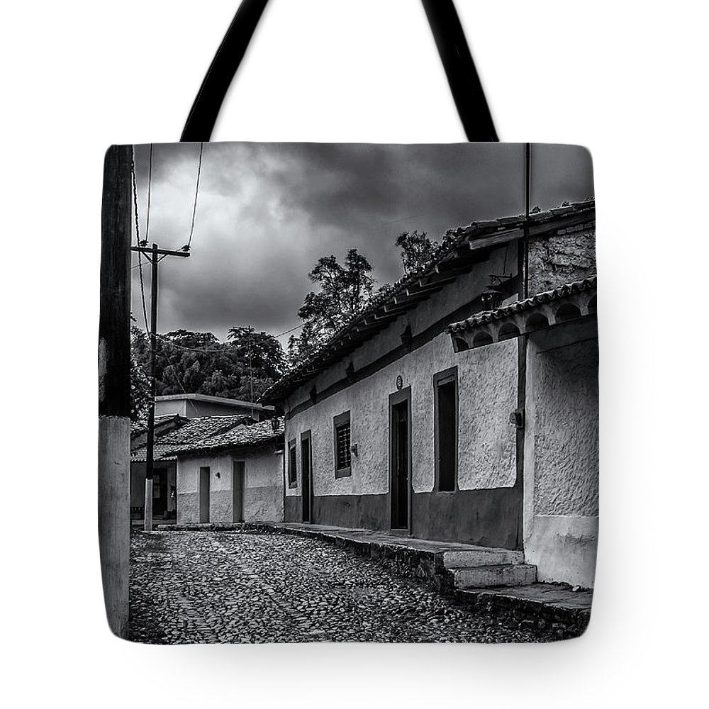 Landscape Tote Bag featuring the photograph Rustic Copala by Javier Flores