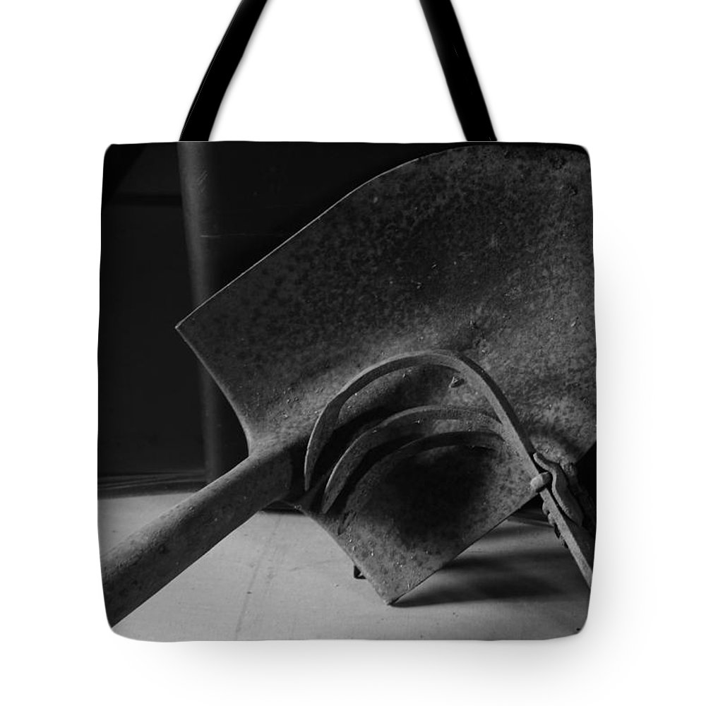 Rust Tote Bag featuring the photograph Rusty Tools by Dennis Drews