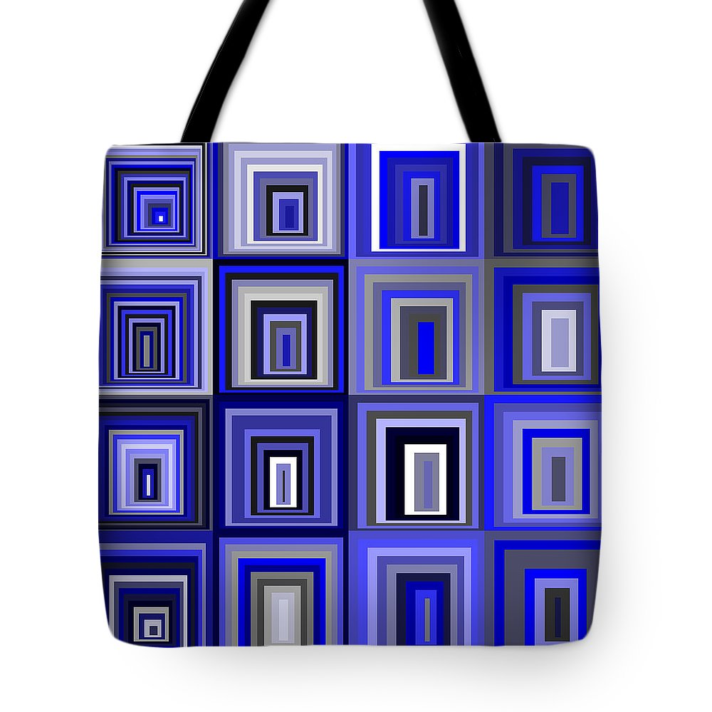 Abstract Tote Bag featuring the digital art S.5.11 by Gareth Lewis