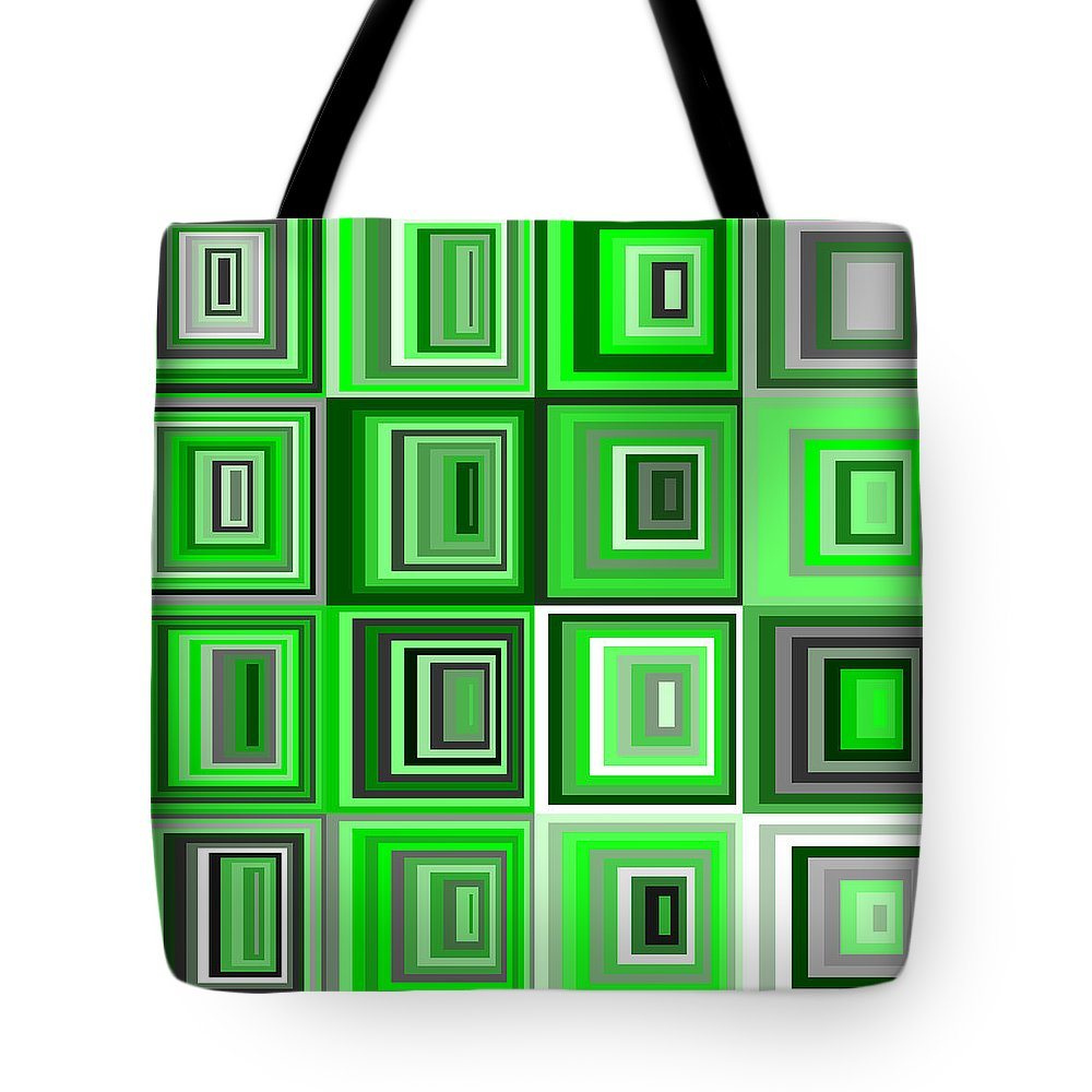 Abstract Tote Bag featuring the digital art S.5.12 by Gareth Lewis