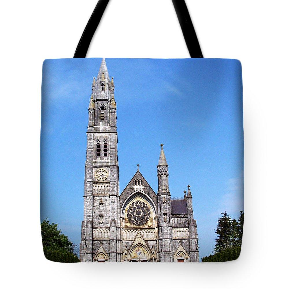 Ireland Tote Bag featuring the photograph Sacred Heart Church Roscommon Ireland by Teresa Mucha