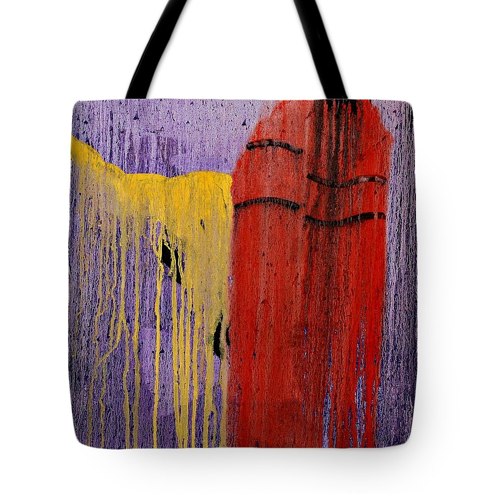 Native American Tote Bag featuring the painting Sacred Knowledge by Patrick Trotter