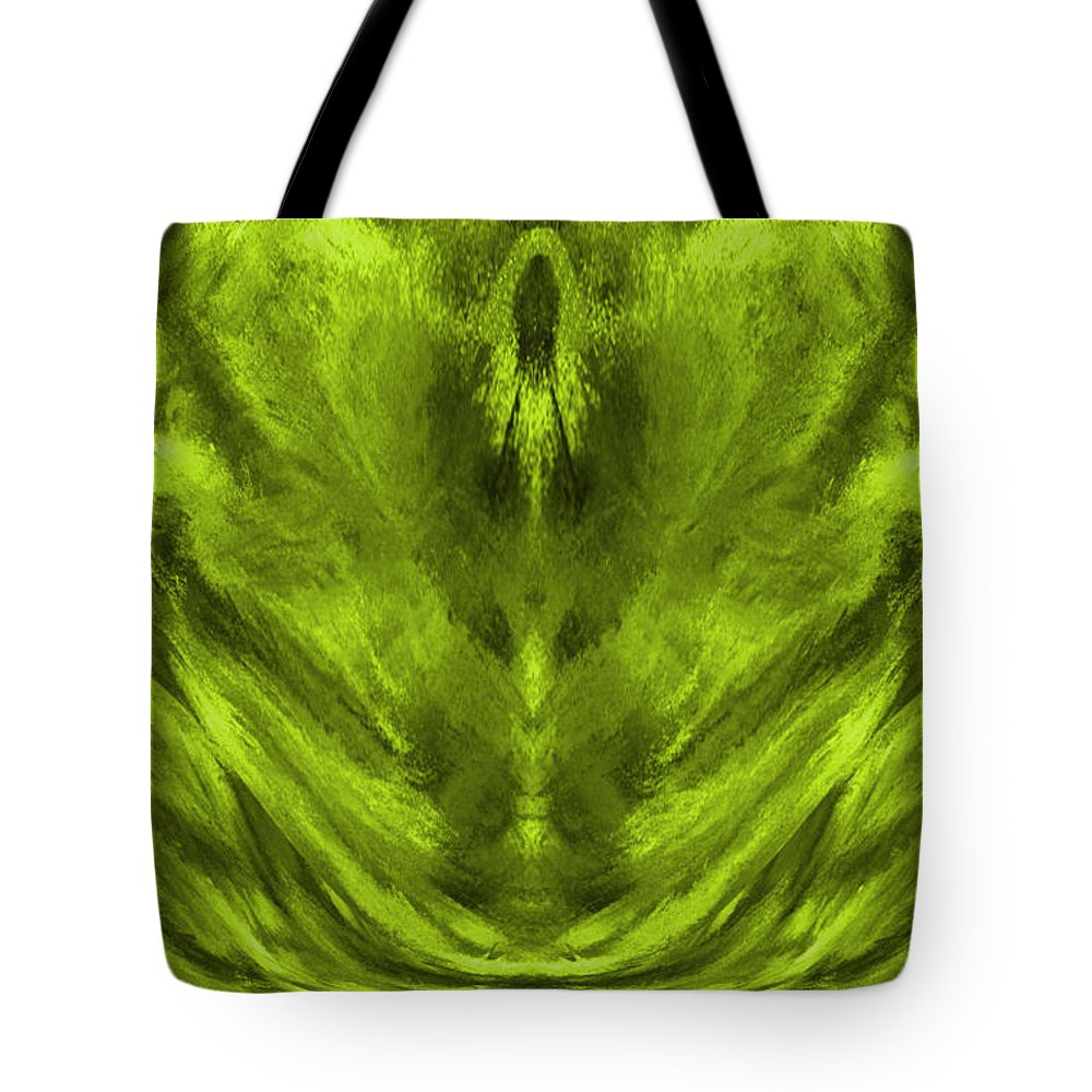 Sacred Light Tote Bag featuring the digital art Sacred Light - 600 by Artistic Mystic