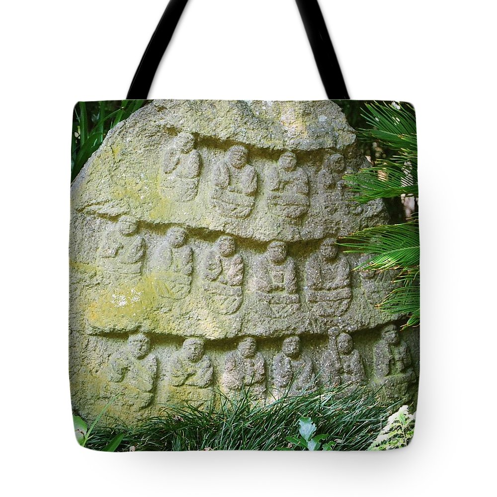 Stone Tote Bag featuring the photograph Sacred Stone by Dean Triolo