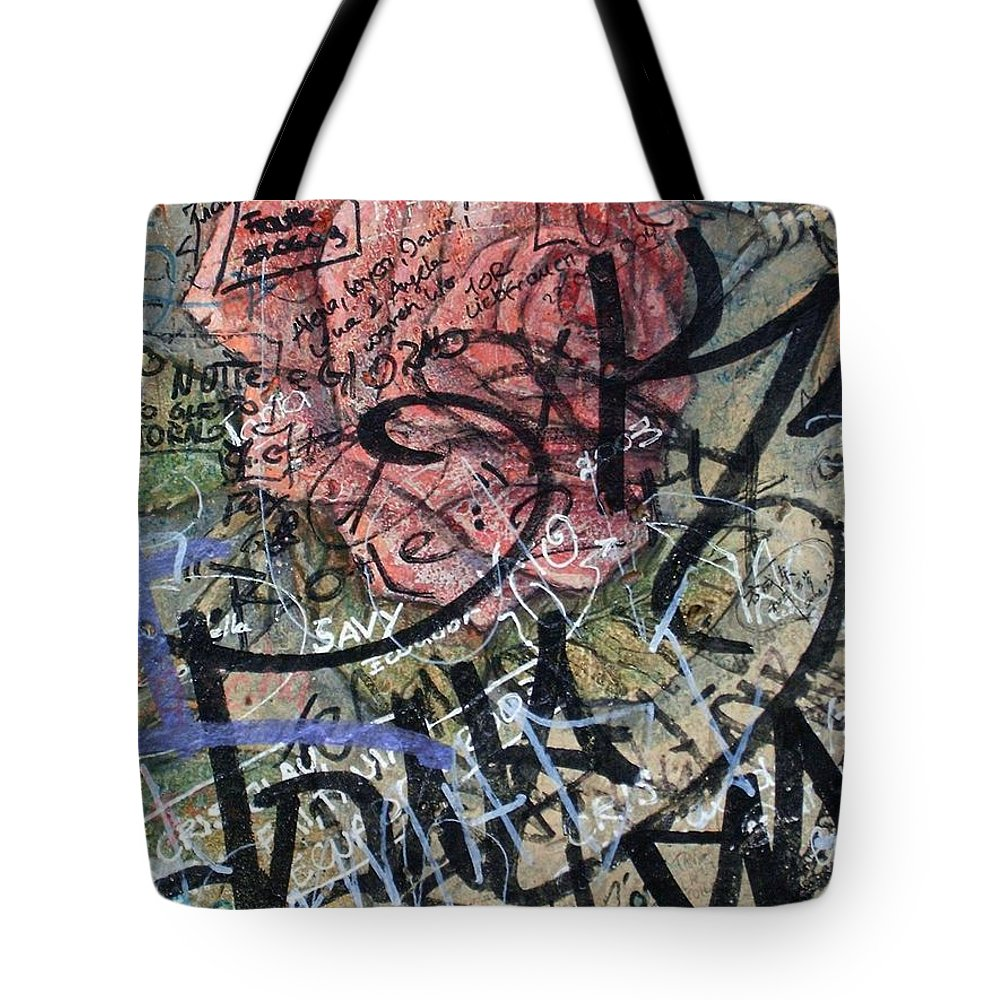 Sad Tote Bag featuring the photograph Sad Rose ... by Juergen Weiss