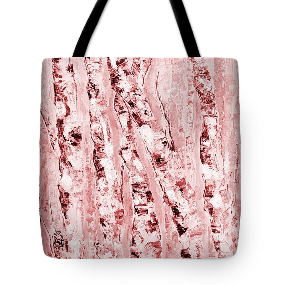 Trees Tote Bag featuring the painting Safe Haven by Jacqueline Milner