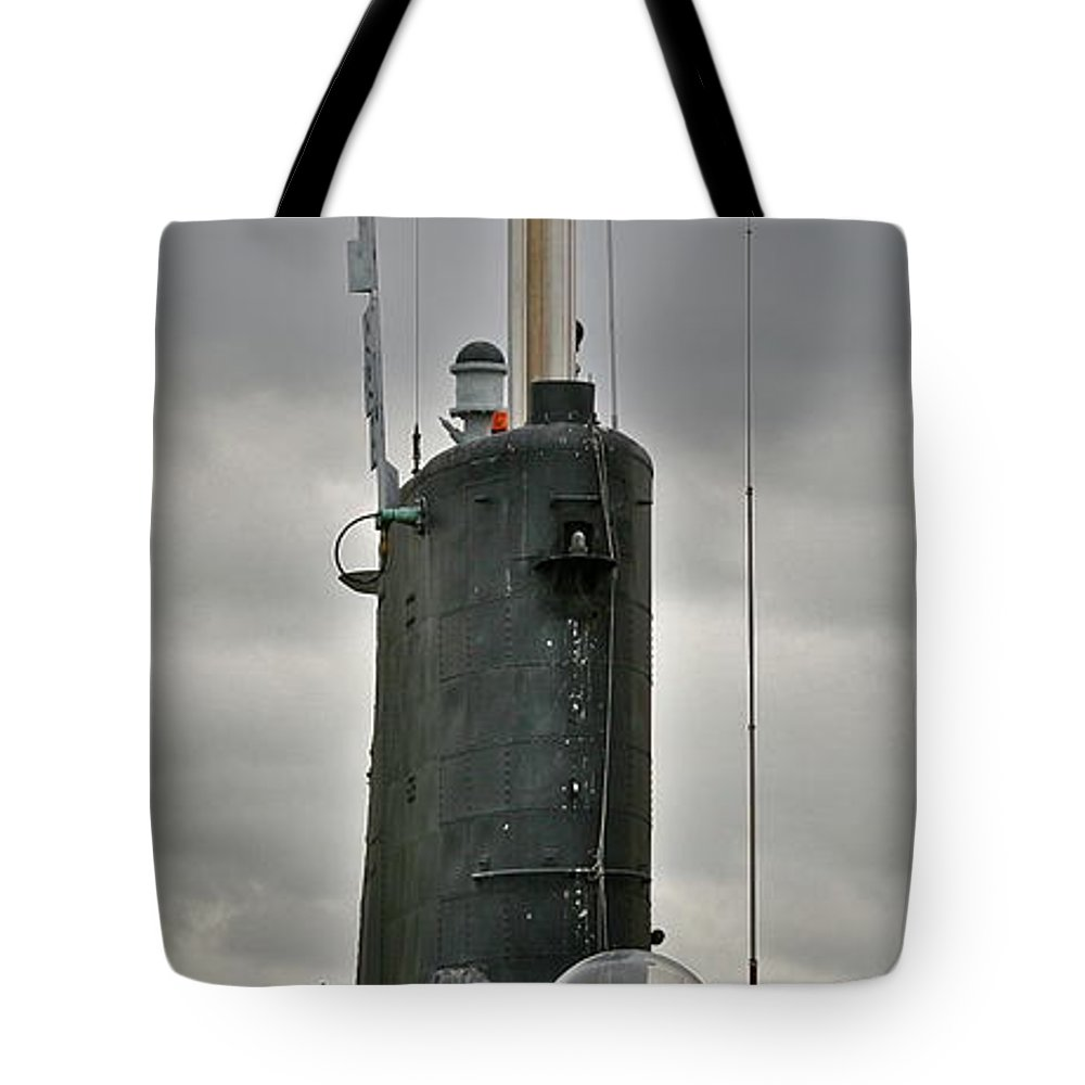 Submarine Tote Bag featuring the photograph Sail by Rick Monyahan