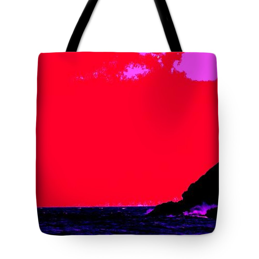 Morning Tote Bag featuring the photograph Sailor Take Warning by Ian MacDonald