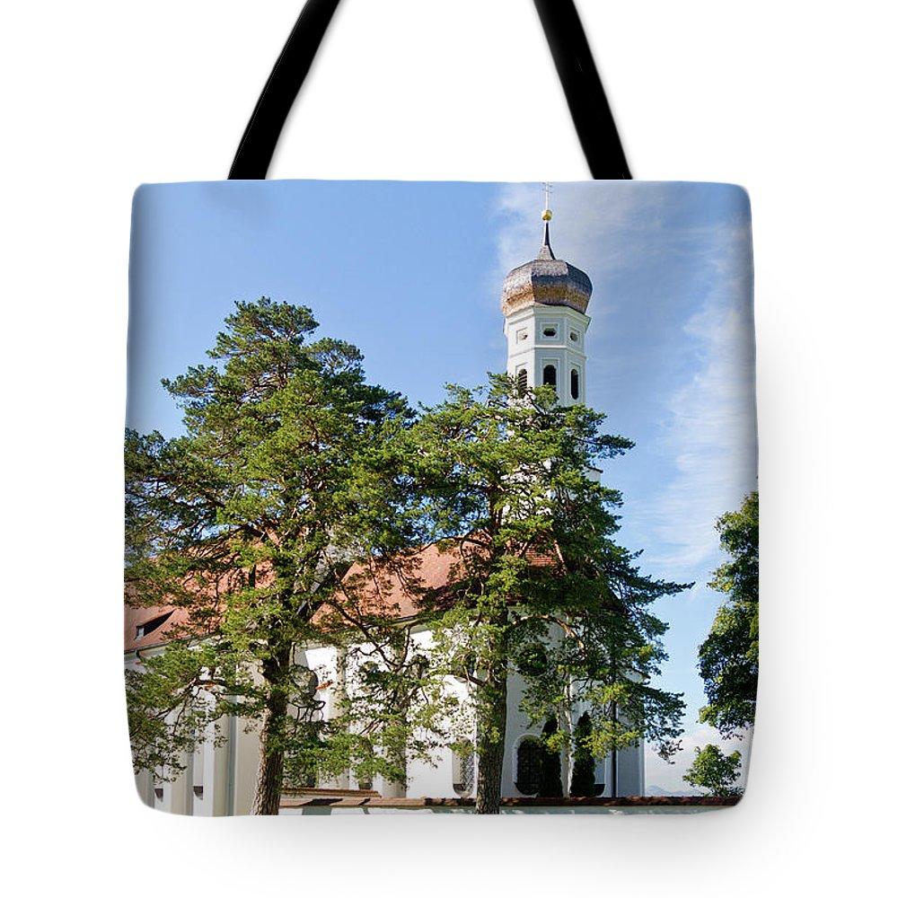 St. Tote Bag featuring the photograph Saint Coloman Church 3 by Bernard Barcos
