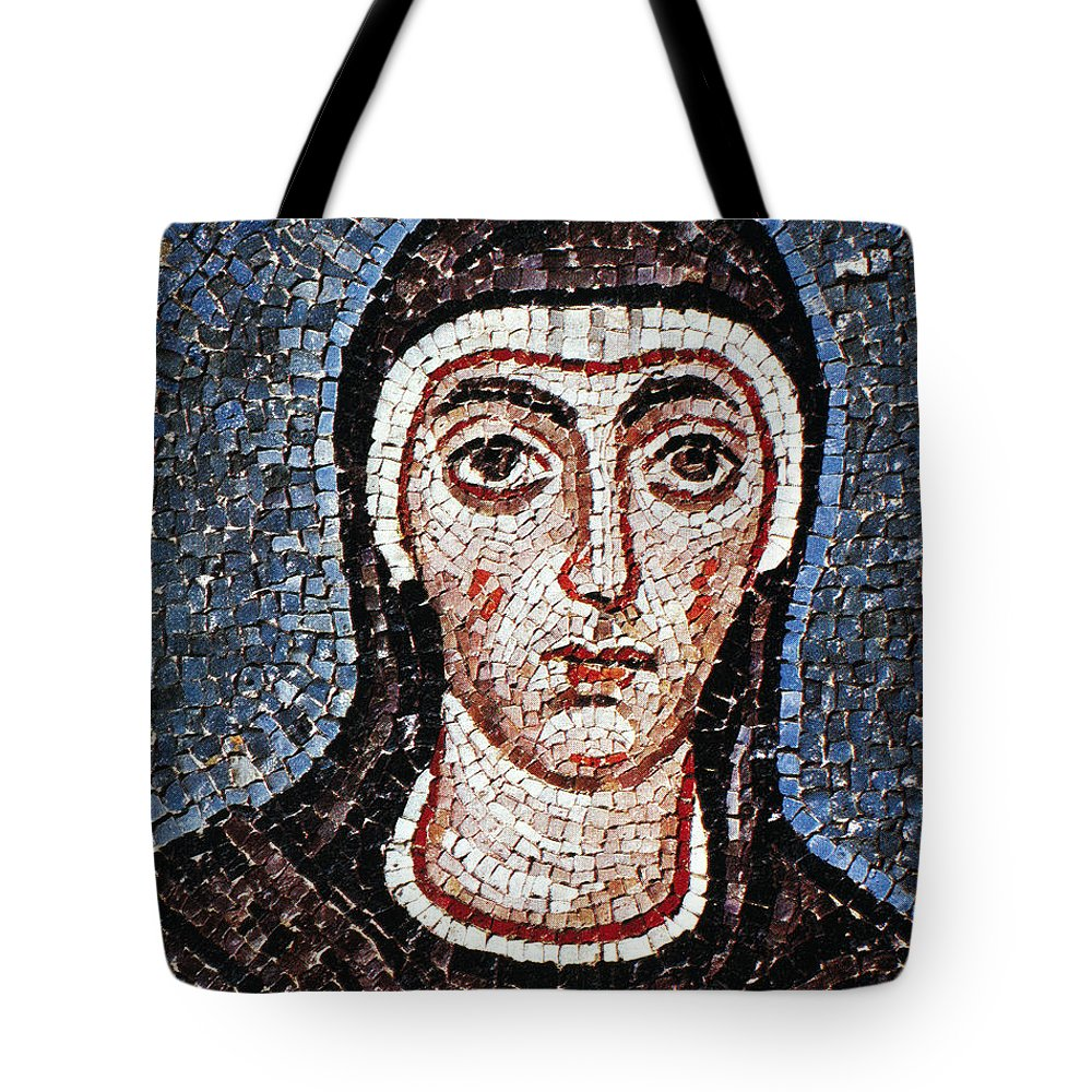 3rd Century Tote Bag featuring the painting Saint Felicity (d. 203) by Granger