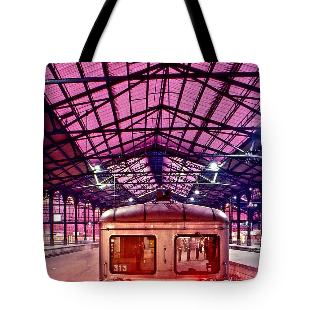 France Tote Bag featuring the photograph Saint Lazare Station by Jean-luc Bohin