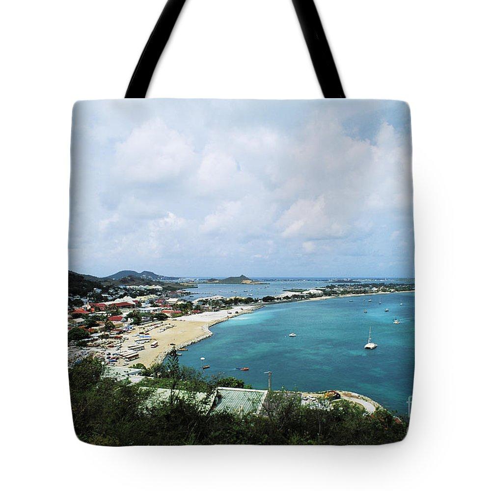 Beach Art Tote Bag featuring the photograph Saint Martin Coast by Bill Bachmann - Printscapes