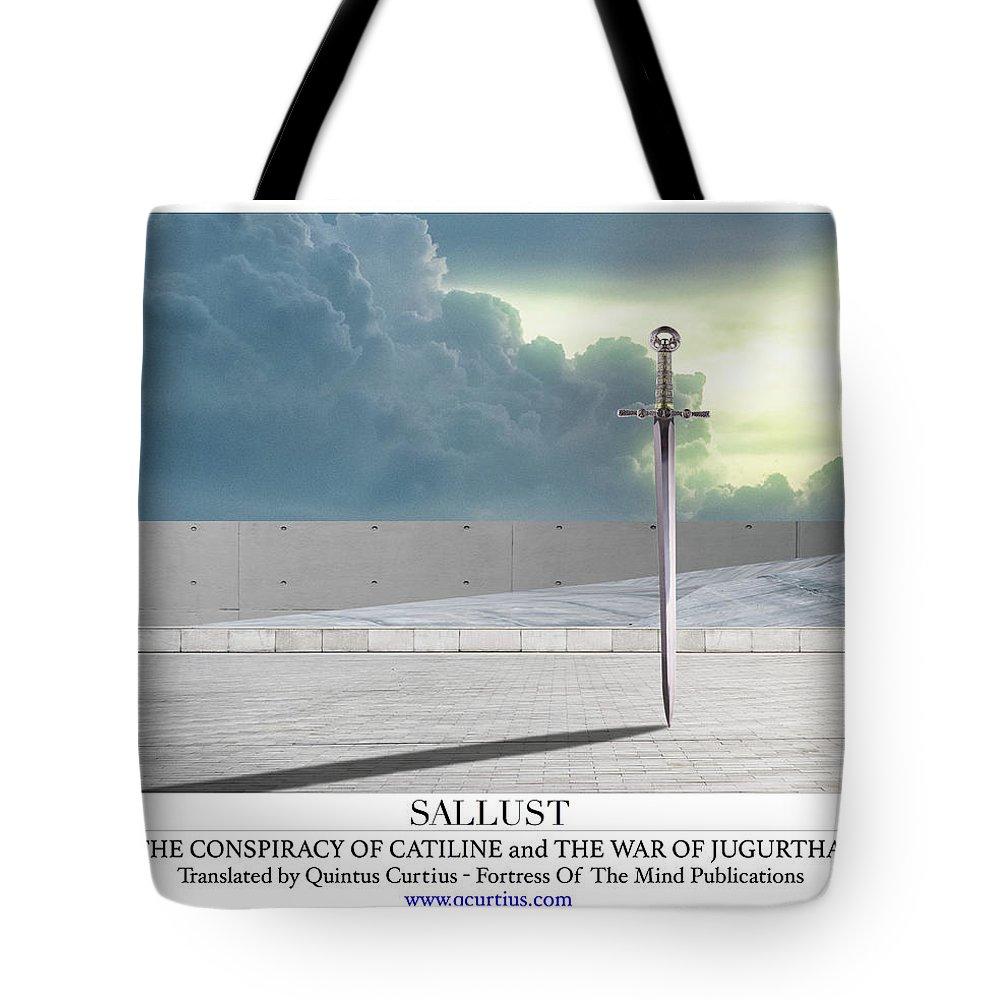Sallust Tote Bag featuring the digital art Sallust by Quintus Curtius
