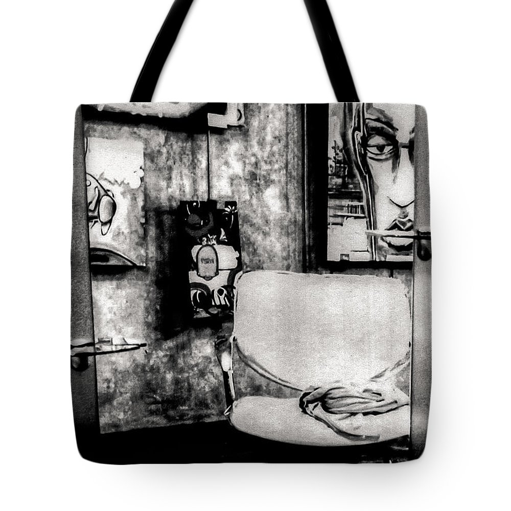 Salon Tote Bag featuring the photograph Salon by Kathleen K Parker