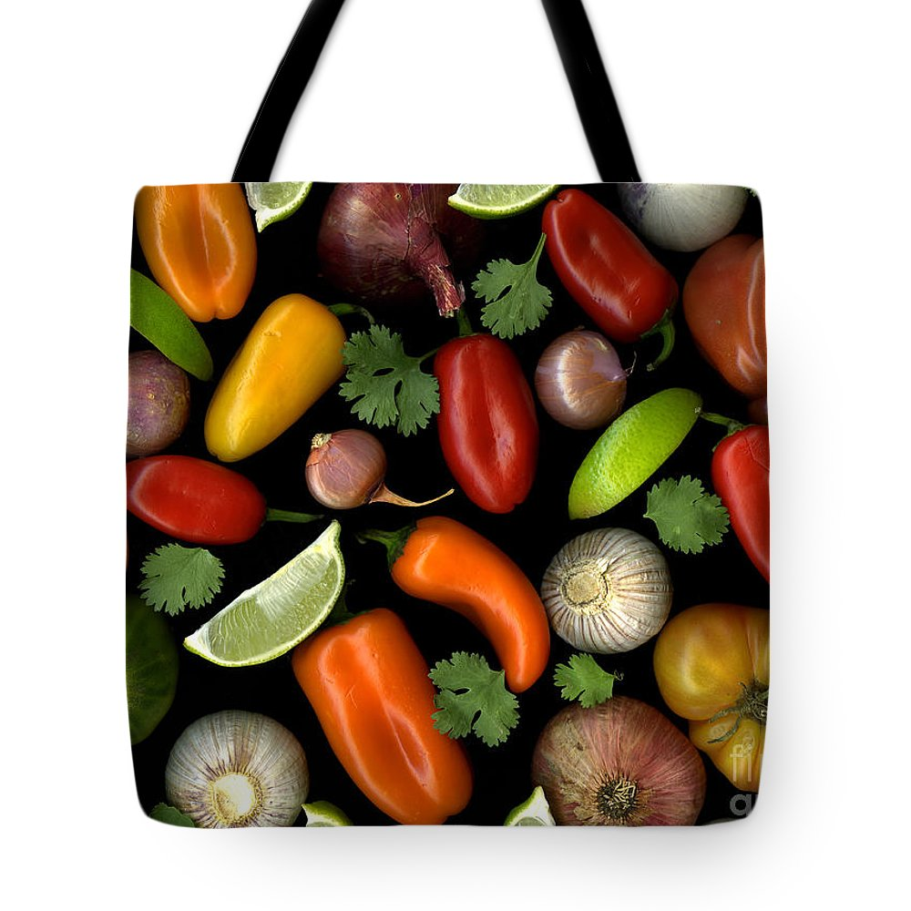 Culinary Tote Bag featuring the photograph Salsa by Christian Slanec