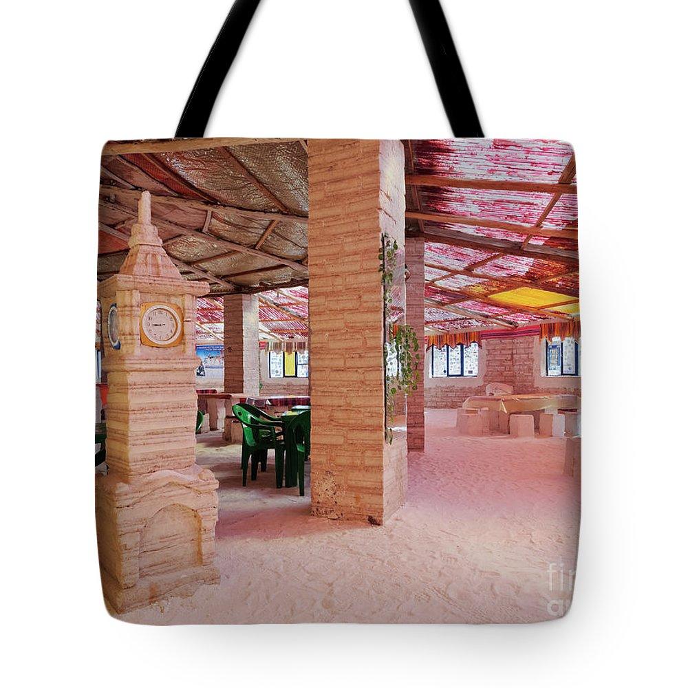 South America Tote Bag featuring the photograph Salt Hotel, Salar De Uyuni, Bolivia by Karol Kozlowski