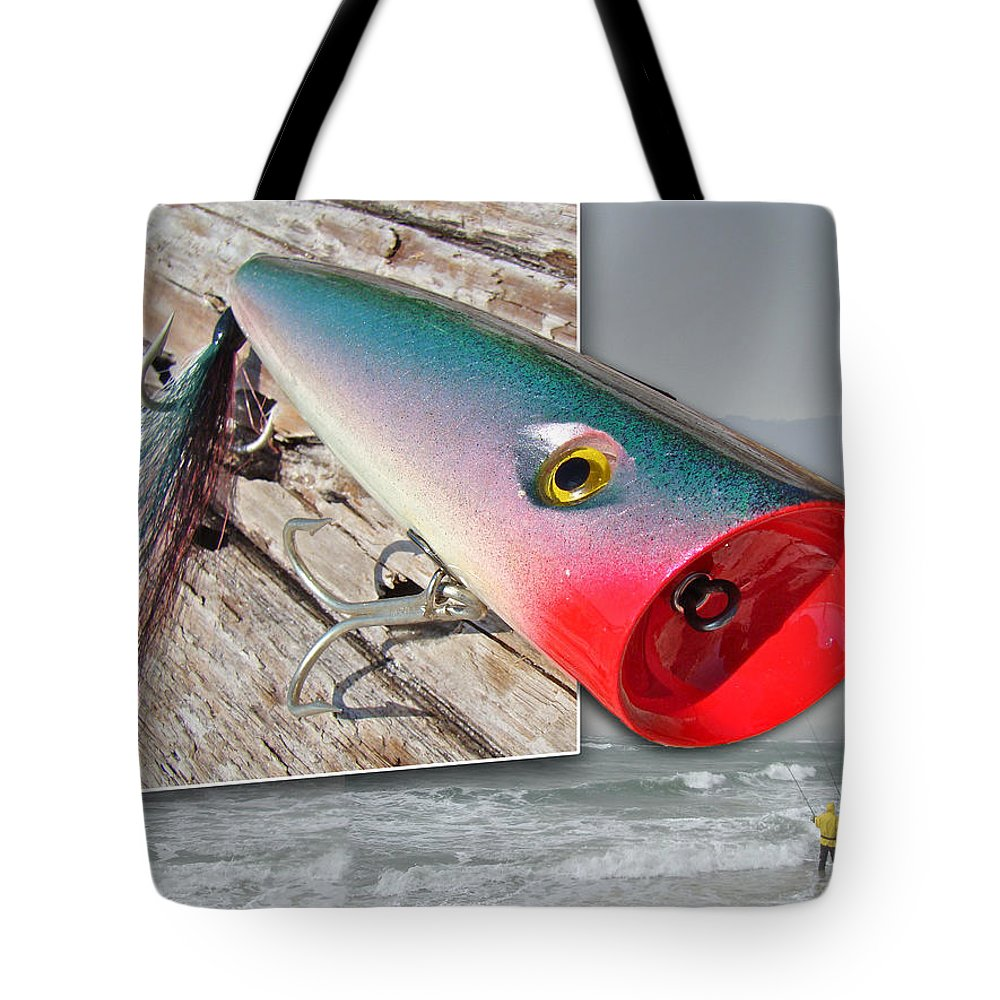Fishing Tote Bag featuring the photograph Saltwater Fishing by Mother Nature