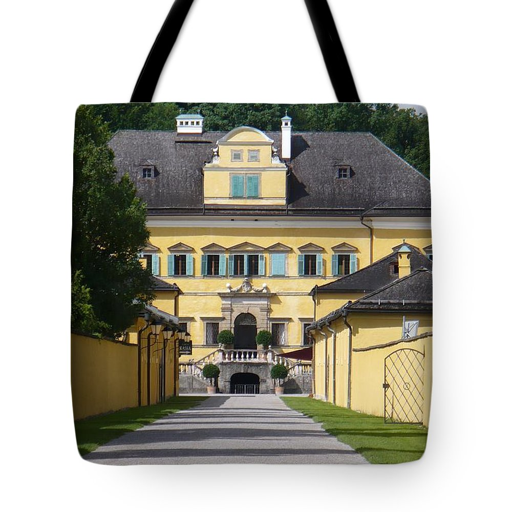 Austria Tote Bag featuring the photograph Salzburg Chateau by Carol Groenen