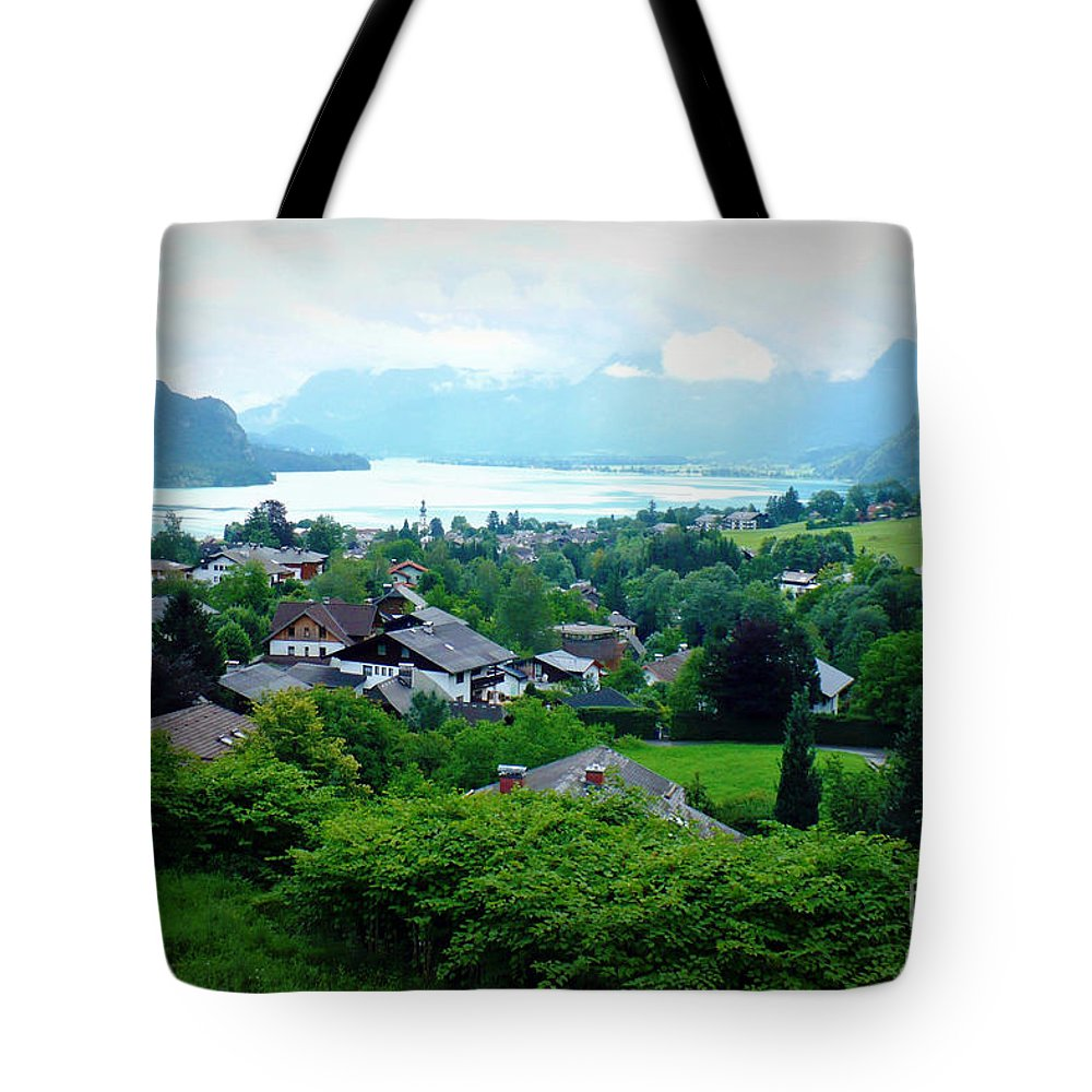 Austria Tote Bag featuring the photograph Salzburg Lake District by Carol Groenen