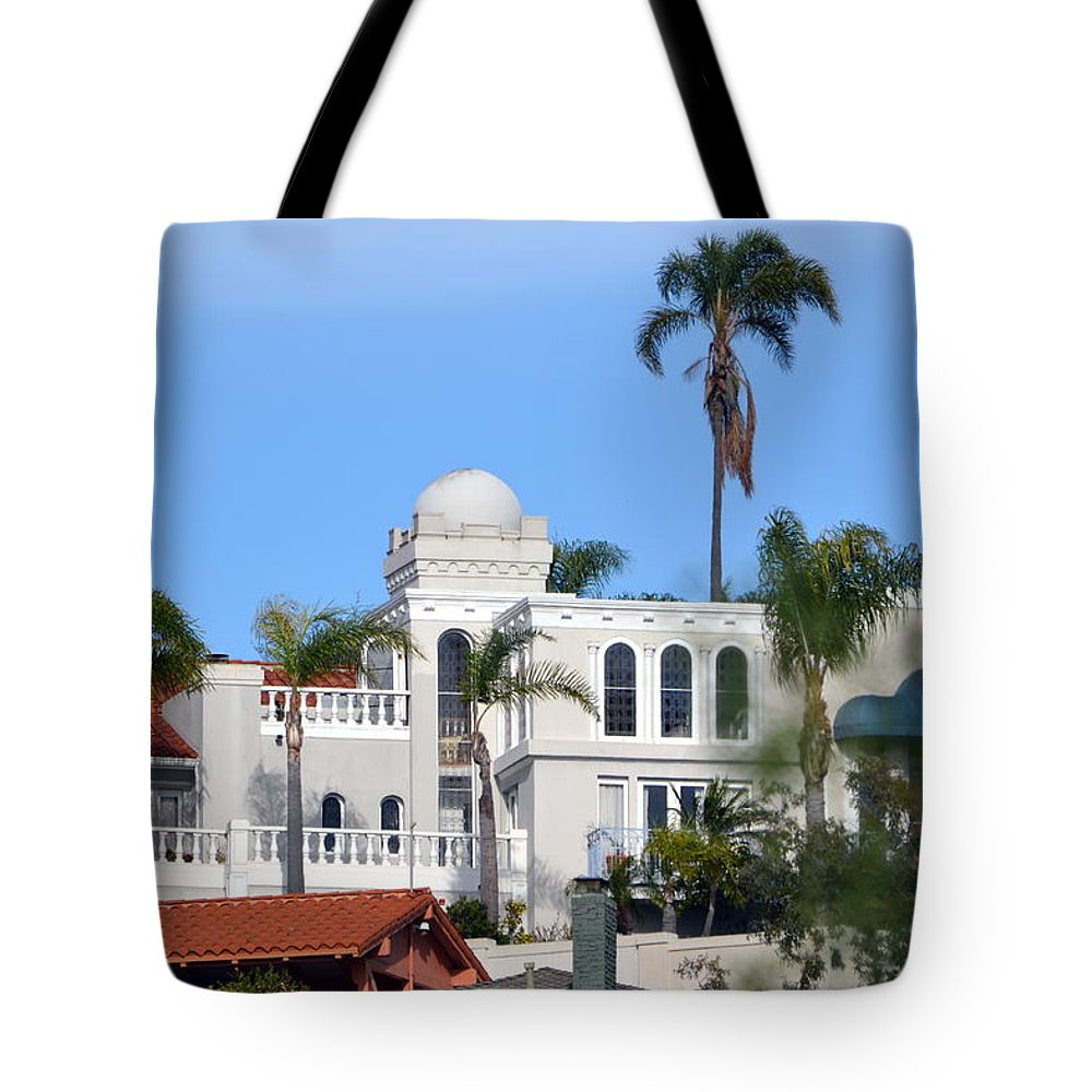 Tote Bag featuring the photograph San Diego by Dean Ferreira