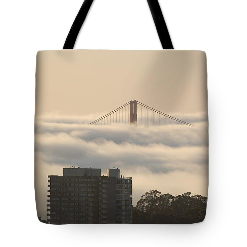 Sf Tote Bag featuring the photograph San Francisco Bay Bridge by Deb Rassel