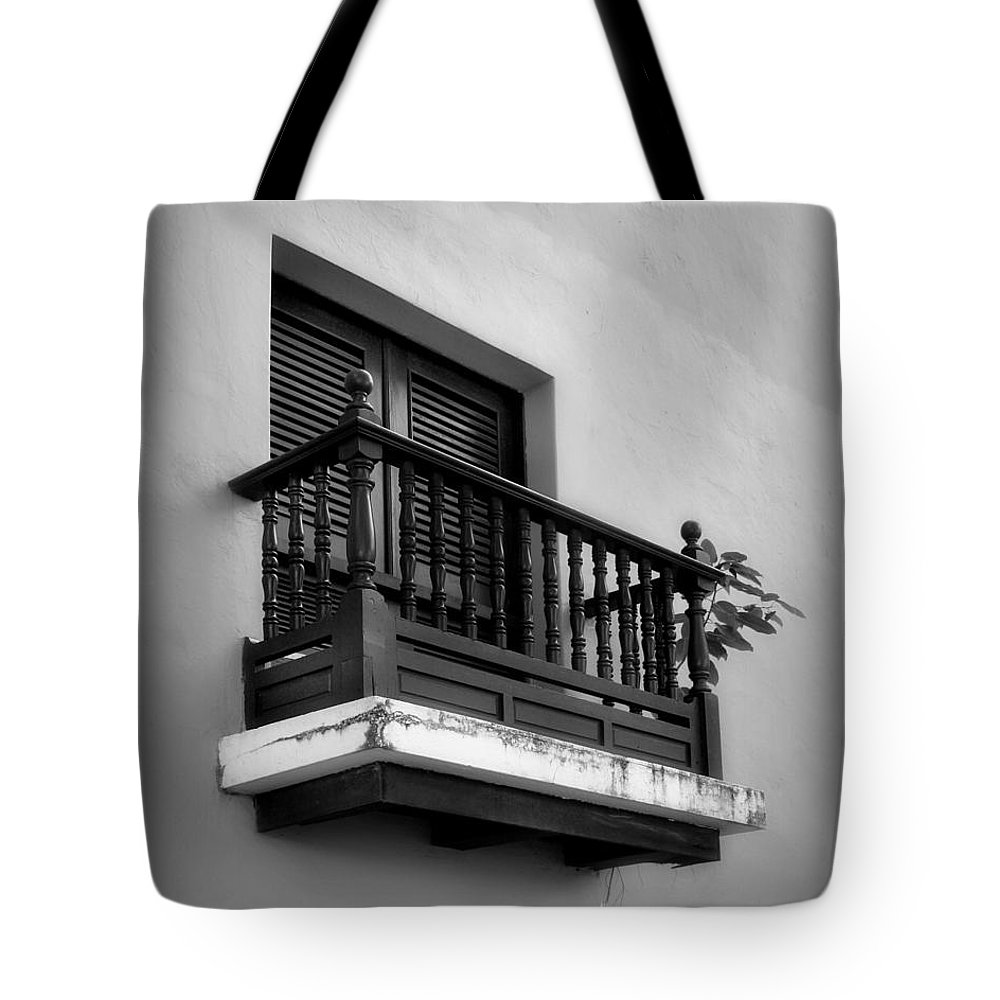 Window Tote Bag featuring the photograph San Juan Window 2 by Perry Webster