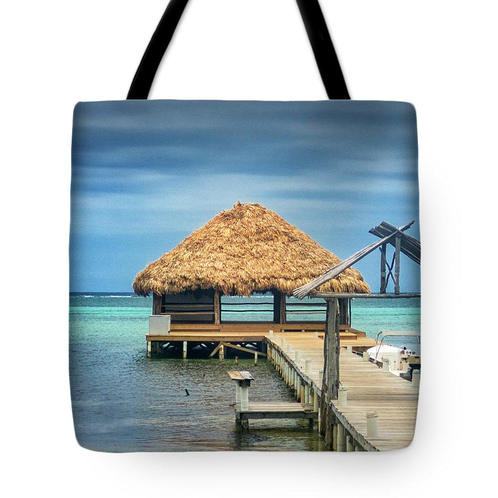 San Pedro Belize Tote Bag featuring the photograph San Pedro La Isla Bonita by David Zanzinger