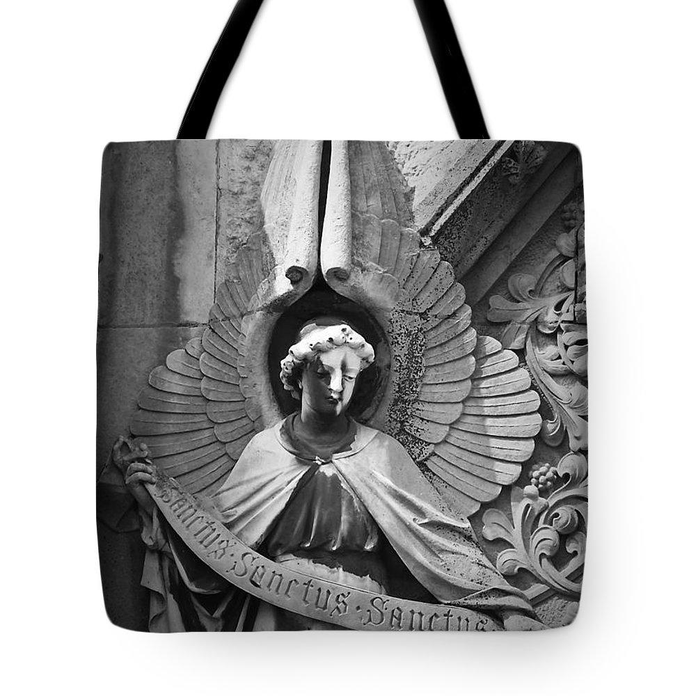 Irish Tote Bag featuring the photograph Sanctus Sanctus Sanctus by Teresa Mucha