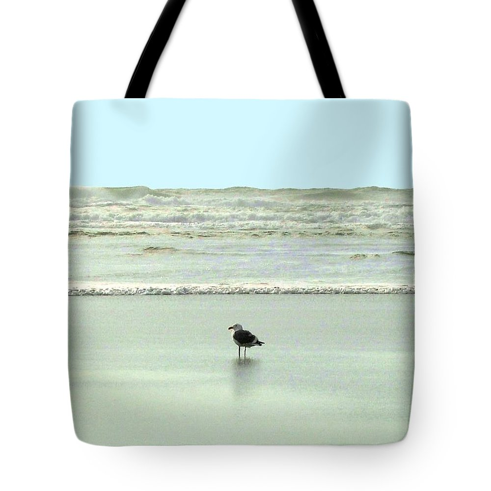 Sand And Sea Tote Bag featuring the photograph Sand And Sea 8 by Will Borden