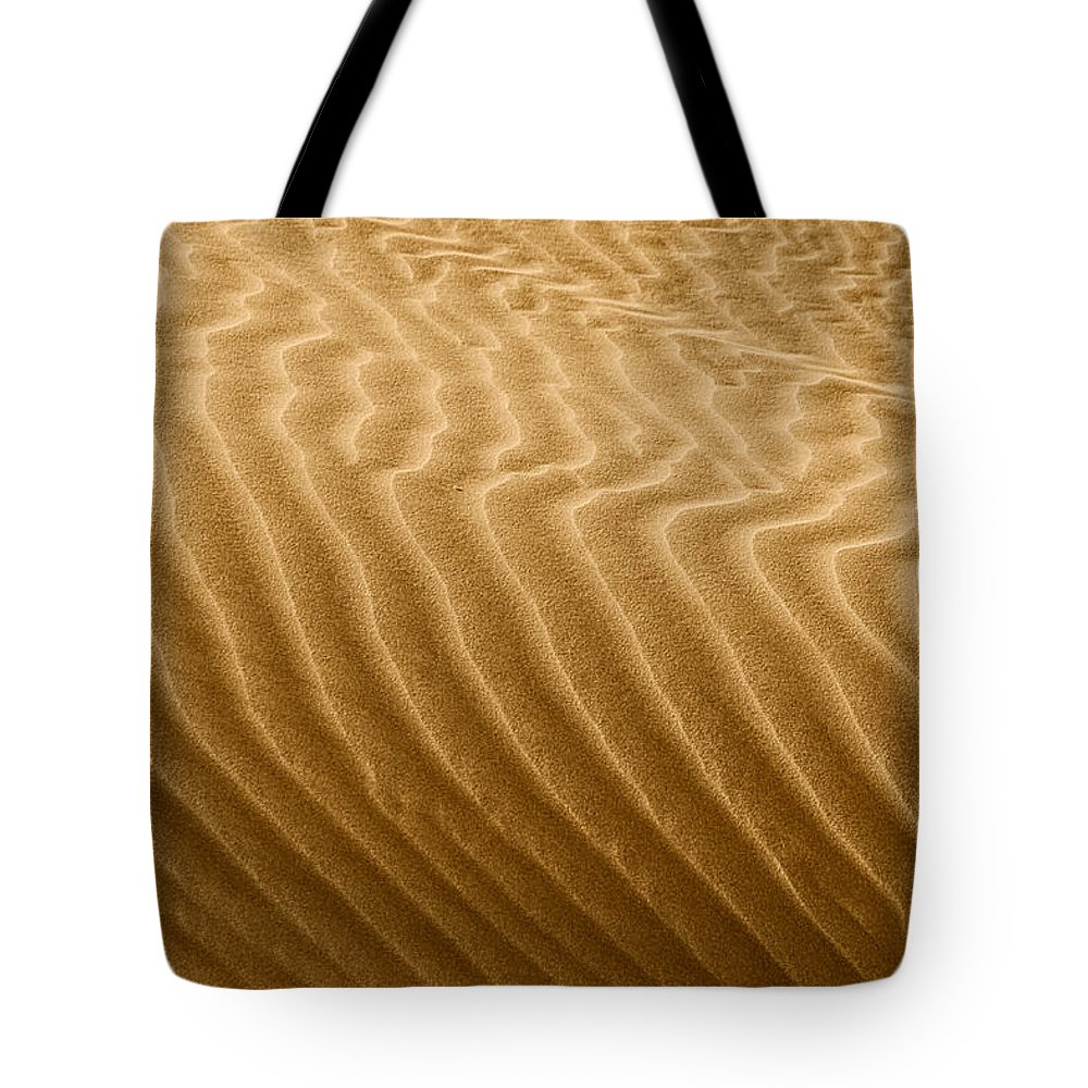 Sand Tote Bag featuring the photograph Sand Dune Mojave Desert California by Christine Till