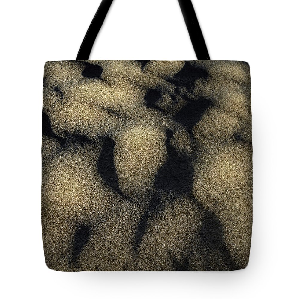 Sand Tote Bag featuring the photograph Sands Of Time by Donna Blackhall